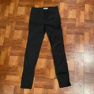 "Madewell Sateen 9"" Skinny Jeans"